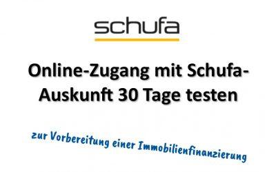 Schufa-Online-Zugang testen